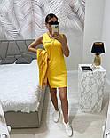 Женское стильное платье-двойка в наборе с кофтой (Норма), фото 10