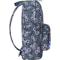 Рюкзак женский городской молодежный модный принт Коалы Bagland 989 (00533664), фото 3