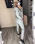 Костюм женский спортивный однотонный из турецкой двунити (Норма), фото 6