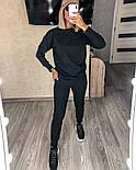 Костюм женский спортивный однотонный из турецкой двунити (Норма), фото 8
