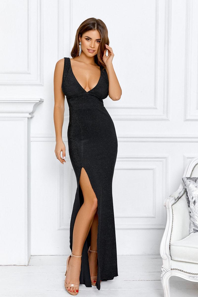 Длинное вечернее платье 42,44,46 размер
