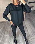 Женский прогулочный спортивный костюм из замши в расцветках (Норма), фото 7