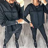 Женский прогулочный спортивный костюм из замши в расцветках (Норма), фото 8