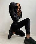 Велюровый женский спортивный костюм с капюшоном (Норма), фото 4
