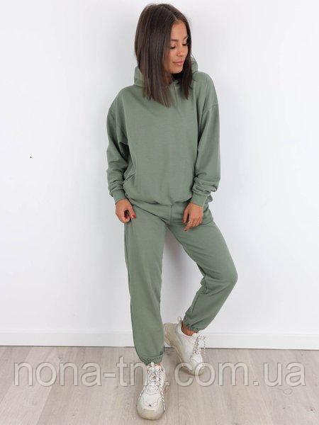 Стильный женский спортивный костюм из двунити (Норма)