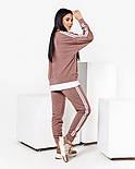 Однотонний спортивний костюм жіночий з двухнити в кольорах, фото 10