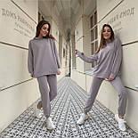Стильный женский спортивный костюм из двунити в расцветках (Норма и батал), фото 10