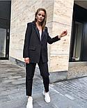 Жіночий яскравий брючний костюм костюм-двійка в кольорах (Норма), фото 2