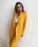 Жіночий яскравий брючний костюм костюм-двійка в кольорах (Норма), фото 3
