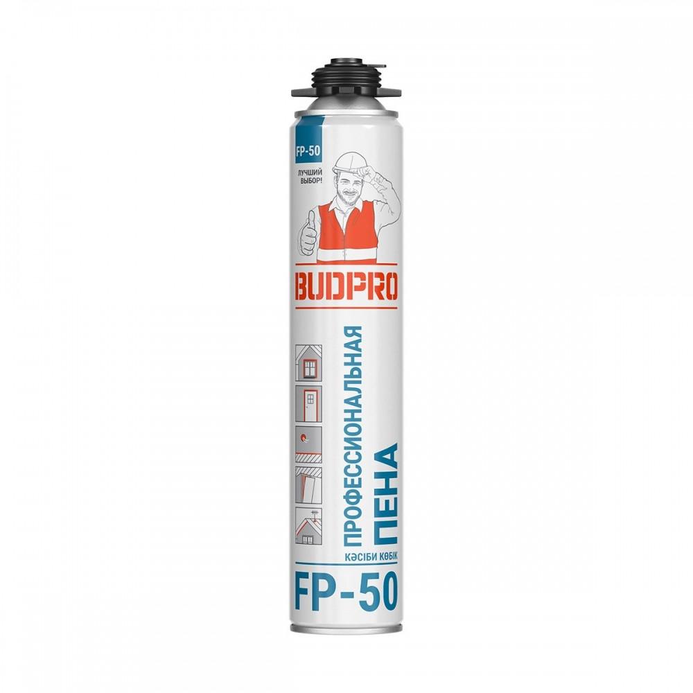 Професійна поліуретанова монтажна піна BUDPRO FP-50 (БудПро) 715 мл (Естонія)