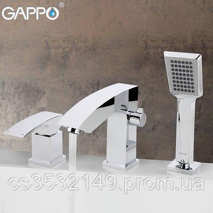Смеситель для ванны встраиваемый  Gappo JACOB G1107, фото 2