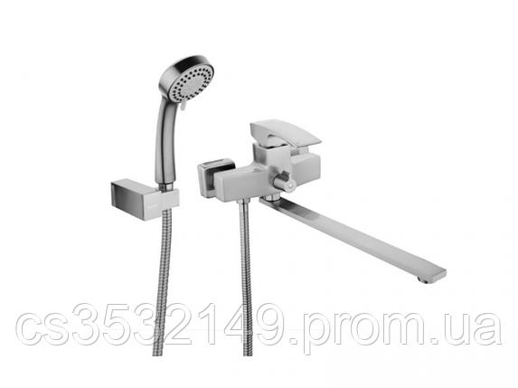 Змішувач для ванни Gappo JACOB G2207-5 Сатин, фото 2