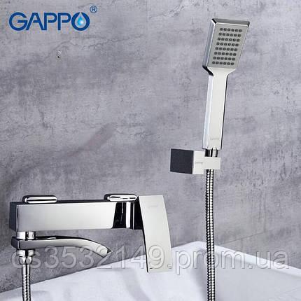 Смеситель для ванны Gappo JACOB G3207, фото 2