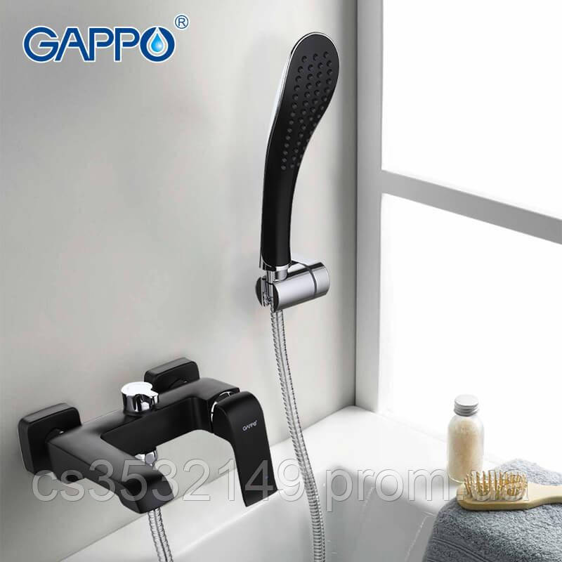 Смеситель для ванны Gappo AVENTADOR G3250 Черный