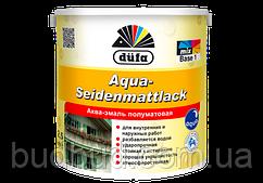 Акваэмаль Aqua-Seidenmattlack Dufa белый полумат 2.5 л