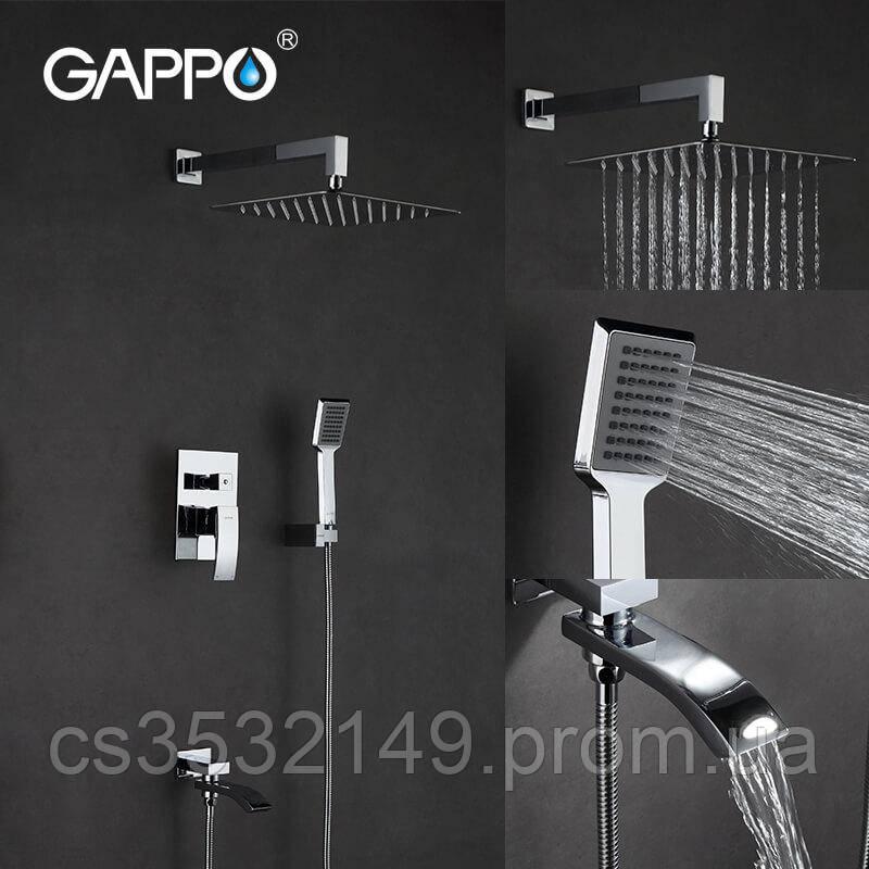 Душова система вбудована Gappo JACOB G7107