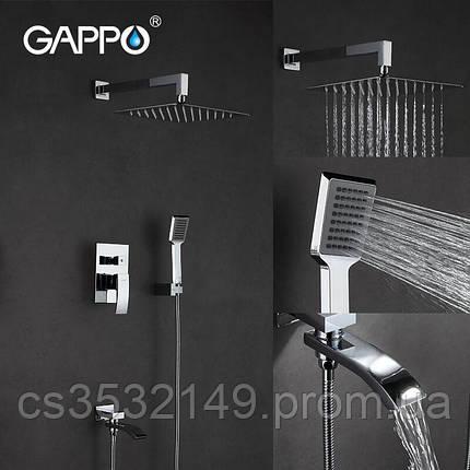 Душевая система встраиваемая Gappo JACOB G7107, фото 2