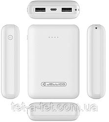Портативна батарея (Power Bank) Jellico RM-120 Li-Pol 10000mAh White