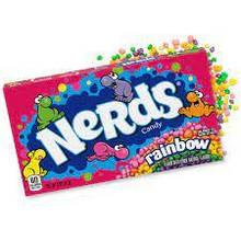 Хрустящая карамель Rainbow Nerds, 142 г