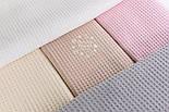 "Лоскут ткани ""Вафелька 8мм"", цвет белый, размер 90*230 см, фото 3"