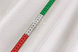 "Лоскут ткани ""Вафелька 8мм"", цвет белый, размер 90*230 см, фото 4"