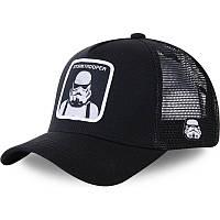 Кепка Бейсболка Тракер з сіткою Goorin Brothers Star Wars Зоряні Війни з Stormtrooper Чорна
