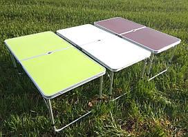 Стол алюминиевый чемодан для пикника со стульями. Стол-чемодан со стульями.