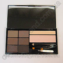 Набір для брів (тіні,віск,хайлайтер,олівець) BrowArtistry Palette M478/01 Malva Cosmetics (розпродаж), фото 2