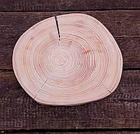 Декоративний спіл натурального дерева для інтер'єру d 16-18 див.
