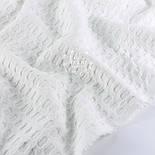 """Лоскут ткани """"Бельгийская вафелька"""", цвет белый, размер 90*105 см, фото 2"""