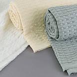 """Лоскут ткани """"Бельгийская вафелька"""", цвет белый, размер 90*105 см, фото 3"""