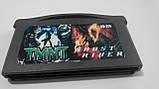 Ігровий картридж для GAME BOY ADVANCE GB 2 in 1 TMNT +Ghost Rider, фото 2