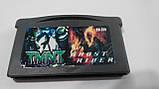 Ігровий картридж для GAME BOY ADVANCE GB 2 in 1 TMNT +Ghost Rider, фото 3