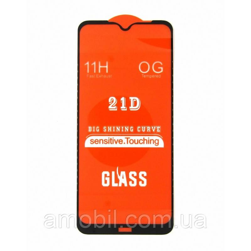 Защитное стекло 21D Xiaomi Redmi Note 8 full glue black