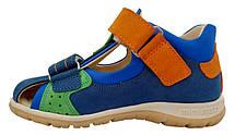 Босоножки Minimen 39papuga синий, фото 3