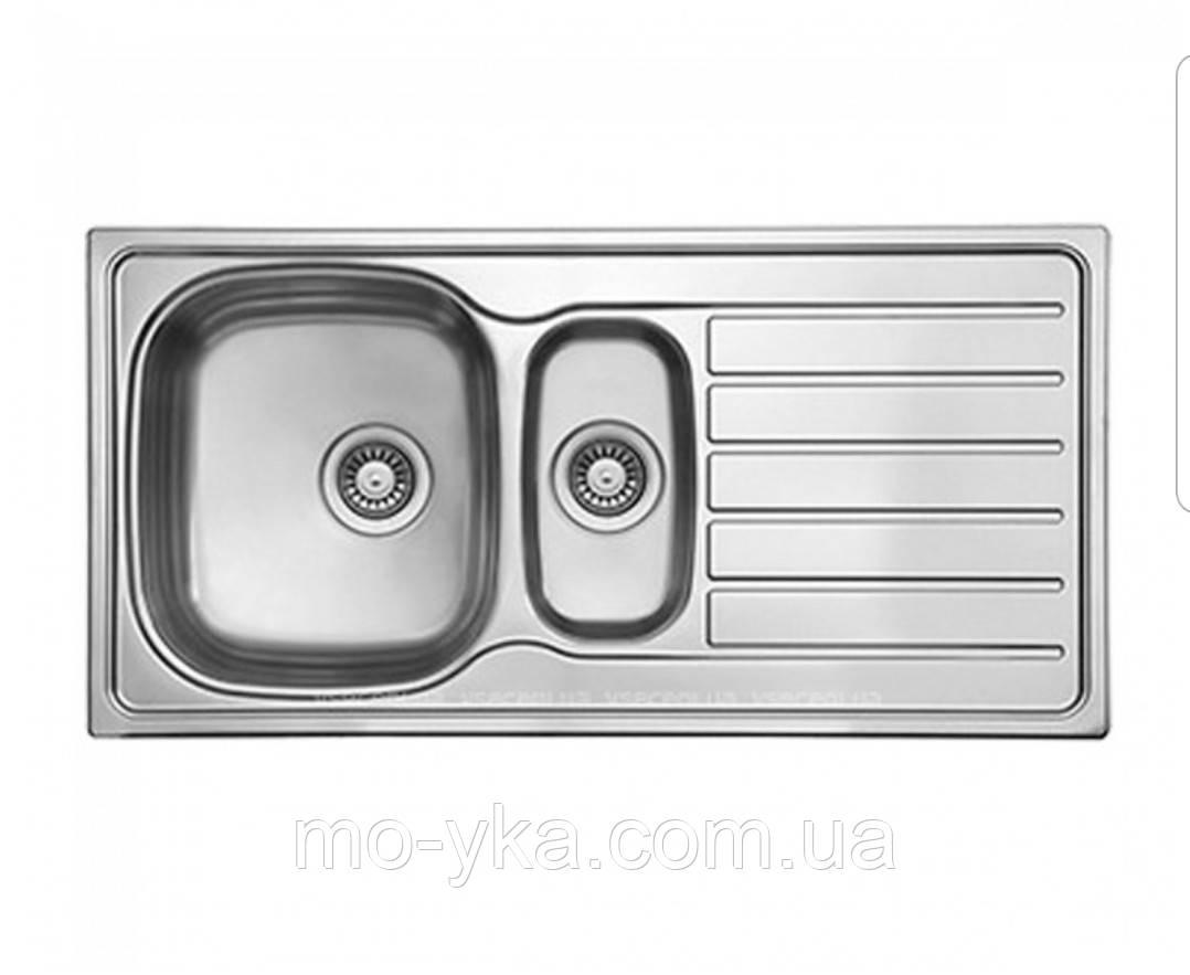 Кухонная мойка Ukinox HYL 1000.500.15 GT 8K декор