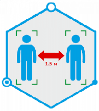 ПО Лицензия TRASSIR Social Distance detector