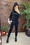 Плюшевый женский спортивный костюм   Норма, фото 4