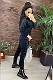 Плюшевый женский спортивный костюм   Норма, фото 7