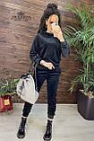 Плюшевый женский спортивный костюм   Норма, фото 9