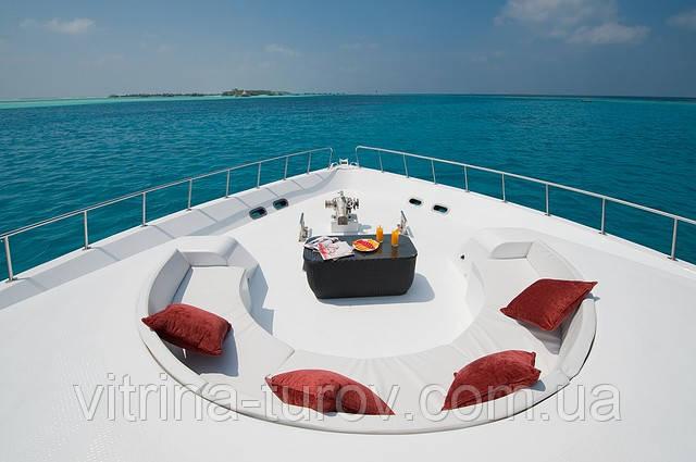 МАЛЬДИВЫ: отдых на яхте M.Y. ANASTASIA по специальным ценам посуточно!