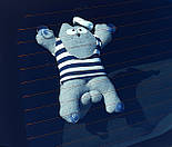 Кот Саймон Моряк на присосках - Игрушка в машину - Сувенир в машину Кот Саймон - Подарок моряку, фото 3