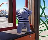 Кот Саймон Моряк на присосках - Игрушка в машину - Сувенир в машину Кот Саймон - Подарок моряку, фото 7
