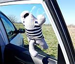 Кот Саймон Моряк на присосках - Игрушка в машину - Сувенир в машину Кот Саймон - Подарок моряку, фото 10