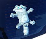 Єнот на присосках в машину - Іграшка на скло в машину - Автоіграшка на присосках - Подарунок водію, фото 2