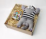 Подарочный набор моряку: Кот Саймон Моряк на присосках и консервированные носки самого крутого моряка, фото 4