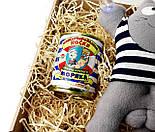 Подарочный набор моряку: Кот Саймон Моряк на присосках и консервированные носки самого крутого моряка, фото 8