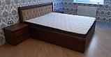 Дерев'яне ліжко Княжна з підйомним механізмом, фото 2