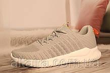 Мужские светло-серые кроссовки BAAS со сквозной сеткой 41-45