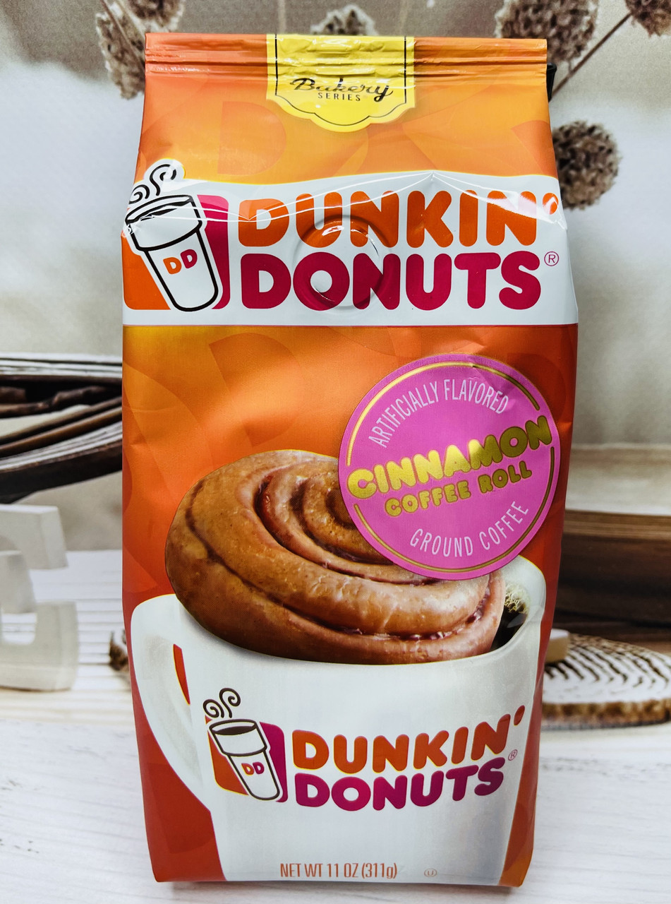 Мелена кава Dunkin' Cinnamon Roll Синабон